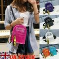 Women Mini Backpack PVC Shoulder School Rucksack Ladies Girls Travel Bag