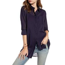 Womens Long Sleeve Low Cut Casual Buttons Down Blouses Tops Shirts Spring New Fashion Casual Button Down Lapel Shirt Tops