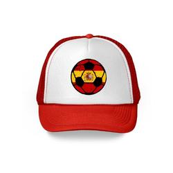 Awkward Styles Spain Soccer Ball Hat Spanish Soccer Trucker Hat Spain 2018 Baseball Cap Spain Trucker Hats for Men and Women Hat Gifts from Spain Spanish Baseball Hats Spanish Flag Trucker Hat