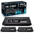 Compatible 3 Black TK-7207 Toner Kit 1T02NL0US0 Ink Cartridge Replacement for Kyocera TASKalfa 3510i Printer Cartridges,Sold by TopInk