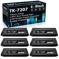 Compatible 6 Black TK-7207 Toner Kit 1T02NL0US0 Ink Cartridge Replacement for Kyocera TASKalfa 3510i Printer Cartridges,Sold by TopInk