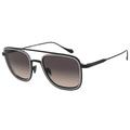 Giorgio Armani Sunglasses AR6086 300113 52mm Matte Black Bronze / Brown Gradient [52-23-145]