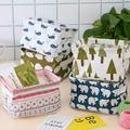 ZDMATHE DIY Desktop Storage Basket Sundries Underwear Toy Storage Box Cosmetic Organizer Book Stationery Container Laundry Basket