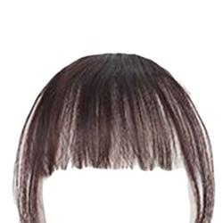 Women Girls Wig Air Bangs Mini Traceless Light Invisible Fake Bangs Hair Pad Liu Hai Tablets - by Robot-GxG