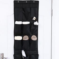 Atralife Storage Case Over-The-Door 12-Pocket Shoes Organizer Oxford Organiser Bag Wall-hanging Closet Bag