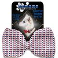 Mirage Pet Products 1395-VBT Democrat Pet Bow Tie Collar Accessory with Cloth Hook & Eye