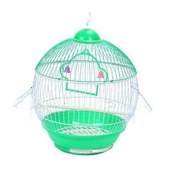 Universal Iron Bird Parrot Cage Macaw Cockatoo Parakeet Conure Cage Birdcage Easy Cleaning Bird Supplies with Feeders