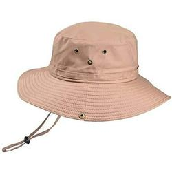 Fishing hat Wide Brim Sun Protection Hat with Breathable Safari hat and Fisherman hat Hiking Hats for Man Woman
