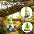Tuscom Garden Goblin Bird House Artificial Outdoor Bird House Hanging Bird House