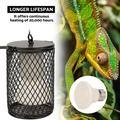 ANGGREK 100W Infrared Ceramic Emitter Heat Light Bulb Lamp Pet Reptile Brooder,Heat Lamp for Brooder,Heat Light for Brooder
