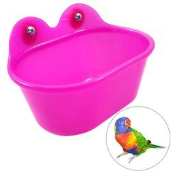 Parrot Bathtub With Mirror Pet Cage Bird Mirror Bath Shower Box Bird Cage Small Pet Cage Toys;Parrot Bathtub With Mirror Pet Cage Bird Mirror Bath Shower Box Pet Toys
