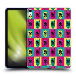 Head Case Designs Officially Licensed Batman DC Comics Vintage Fashion Pop Art Head Soft Gel Case Compatible with Apple Apple iPad Air (2020)