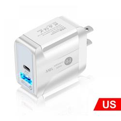 Patgoal Qc 3.0 Adapter/ Quick Charge 3.0 Wall Charger/ Fast Charging Block/ Usb Wall Charger Fast Charging/ Usb Fast Charger/ Qc 3.0 Wall Charger/ 18w Usb Phone Charger Qc 3.0 Fast Pd Charge