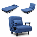 Sofa Bed Folding Arm Chair Width Convertible Sleeper Recliner Lounge