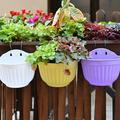 SPRING PARK Wall Planter Hanging Flower Pot Garden Basket Home Garden Wall Decor