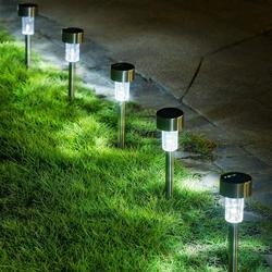 Solar Lights Outdoor, 10Pack solar pathway lights outdoor, Waterproof, LED Landscape garden lights Solar Powered, Outdoor Lights Solar Garden Lights for Pathway, Walkway, Patio, Yard, Driveway