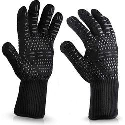 2021 New 800 Degrees High Temperature Resistant Gloves Microwave Oven Kitchen Gloves