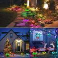 12 Pcs Smart Color Outdoor Lights, IP65 Waterproof Colorized Solar Lights Outdoor 12 Pack, Suitable for Garden Landscape Terrace, Swimming Pool Courtyard Outdoor Solar Lights