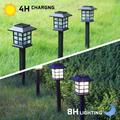 Solar Outdoor Torch Lights LED Landscape Lighting Solar Outdoor Path Lights Waterproof Solar Flame Lights Torch Dusk to Dawn Auto On/Off Security for Garden Yard Patio, 3 Pack
