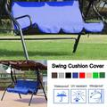 Patio Swing Cushion Cover, Waterproof Swing Seat Cover Replacement Outdoor Bench Cushion Hammock Cover Chair Protection for 2 3 Seater Swing Seat