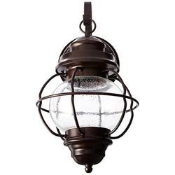 Trans Globe Lighting Trans Globe Imports 69900 Rbz Nautical One Light Wall Lantern From Catalina Collection Dark Finish, Rustic Bronze