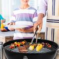 Ktaxon Charcoal Gril Convenient and Sanitary Spherical Grill Outdoor Cooking