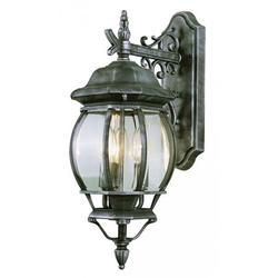 Trans Globe Lighting 4054 Three Light Up Lighting Outdoor Wall Sconce From The Outdoor