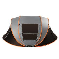 Camping Tent - 5-8/3-4 Person Tent for Camping Waterproof, Windproof Fabric, Anti-UV Ultralight Folding Tent Turn on Automatic Opening Tent For Hiking Fishing Travel Beach, Portable with Carry Bag