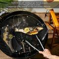 OTVIAP BBQ Mesh Mat,3Pcs BBQ Grill Mats Sheet Reusable BBQ Mesh Mat Non-Stick Barbecue Pad Grill Accessories,Barbecue Pad