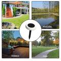 12 Pcs Colorized Solar Lights Outdoor 12 Pack, LED Outdoor Lights, Smart Light Control Solar Lights Outdoor Pathway, Suitable for Garden Landscape Terrace Swimming Pool Courtyard