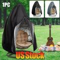 GETHOME Swing Chair Cover Outdoor Egg Wicker Dustproof Hanging Hammock Stand Easy Clean