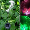 Outdoor Solar Garden Stake Lights Changing LED Outdoor Decorative Solar Stake Lights for Garden Patio Backyard;Changing LED Outdoor Decorative Solar Stake Lights for Garden Backyard
