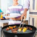 SamyoHome Outdoor Cooking Charcoal Gril Convenient and Sanitary Spherical Grill