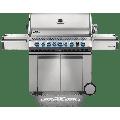 Napoleon Prestige Pro 665 Natural Gas Grill With Infrared Rear Burner And Infrared Side Burner