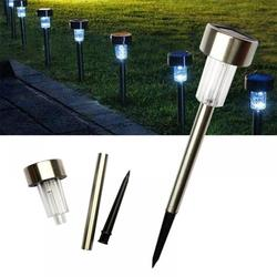 Wuffmeow Solar Lights Outdoor, 12Pack solar pathway lights outdoor, Waterproof, LED Landscape garden lights Solar Powered Outdoor Lights Solar Garden Lights