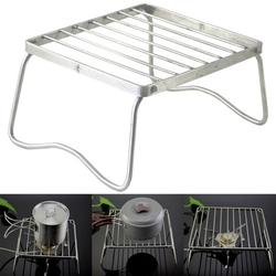 DAILY GOLF TOOLS BBQ Grill Portable Stainless Steel Folding Barbecue Grill Mini Pocket BBQ Tools;BBQ Grill Portable Stainless Steel Folding Barbecue Grill Mini Tools