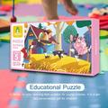 Educational Puzzles Fairy Tale Series Non-Toxic Paper Jigsaw