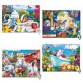 MasterPieces Puzzle Sets - Wild & Whimsical - 4 Pack of 500 Piece Jigsaw Puzzles