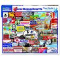 White Mountain Puzzles I Love Massachusetts - 1000 Piece Jigsaw Puzzle