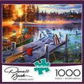 Buffalo Games - Darrell Bush - Morning Magic - 1000 Piece Jigsaw Puzzle
