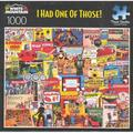 White Mountain Puzzles I Had One of Those! Designer: Charlie Girard Puzzles - 1000 Piece Collage Jigsaw Puzzle (20�x27)