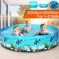 """4' x 10"""" inch Inflatable Pool Family Paddling Pool Swimming Pool, Garden Round Inflatable Baby Swimming Pool, Portable Inflatable Child / Children Pool"""