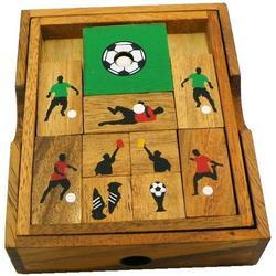 Soccer Field - Wooden Puzzle Brain Teaser