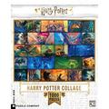New York Puzzle Company - Harry Potter Harry Potter Collage - 1000 Piece Jigsaw Puzzle