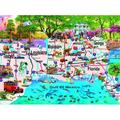 Gulf Coast 1000 pc Jigsaw Puzzle by, Gulf Coast 1000 pc Jigsaw Puzzle by SunsOut By SunsOut Ship from US