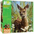 MasterPieces Animal Planet Spring Fawn - Deer 1000 Piece Jigsaw Puzzle by Carl Brenders