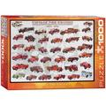 EuroGraphics Vintage Fire Engines 1000 Piece Puzzle, 1000-Piece Puzzle By Visit the EuroGraphics Store