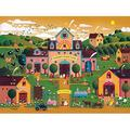 Roger Nannini/Home Sweet Home - Peachie's Peach Farm Puzzle (300 Piece), 300 Piece Puzzle By Ceaco Ship from US