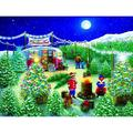 A Lot of Christmas Trees 300 pc Jigsaw Puzzle by SunsOut - Christmas Puzzle