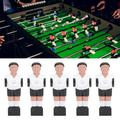 Kritne 11Pcs 1.4M Table Soccer Ball Player Man Replacements Table Football Game Machine Accessory,Table Football Man,Table Football Player